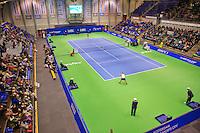 December 21, 2014, Rotterdam, Topsport Centrum, Lotto NK Tennis, Overall view centercourt<br /> Photo: Tennisimages/Henk Koster