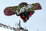 2011 FIS Snowboard World Cup  Championships , halfpipe qualification men's, La Molina. Picture show Dolf Wal Van Der NED FIS SNOWBOARD WORLD CHAMPIONS LA MOLINA
