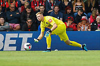 Aaron Ramsdale of AFC Bournemouth started in goal during AFC Bournemouth vs Sheffield United, Premier League Football at the Vitality Stadium on 10th August 2019
