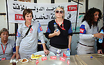 TIPH members take part in the Traditional Food Festival in the West Bank city of Hebron on October 19,2010. The festival was organized by Hebron rehabilitation committee and this festival is a part of Amar Ya Baladna camping to support the old city of Hebron. Photo by Najeh Hashlamoun