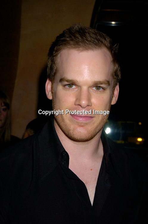 Michael C Hall ..at the Showtime Tribeca Film Festival party on May 7, 2004 at Nobu in New York City. ..Photo by Robin Platzer, Twin Images