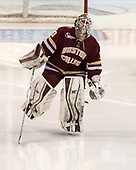 Katie Burt (BC - 33) - The Boston College Eagles defeated the Boston University Terriers 3-2 in the first round of the Beanpot on Monday, January 31, 2017, at Matthews Arena in Boston, Massachusetts.