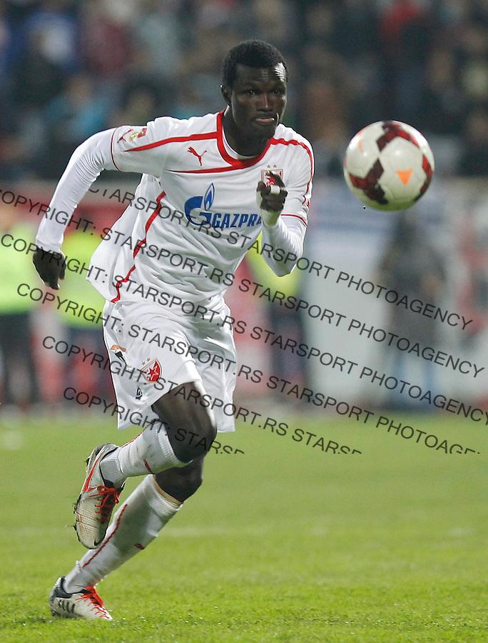 Fudbal Super liga season 2013-2014<br /> Radnicki Nis v Crvena Zvezda<br /> Abiola Dauda<br /> Nis, 26.10.2013.<br /> foto: Srdjan Stevanovic/Starsportphoto &copy;