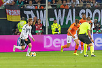 06.09.2019, Volksparkstadion, HAMBURG, GER, EMQ, Deutschland (GER) vs Niederlande (NED)<br /> <br /> DFB REGULATIONS PROHIBIT ANY USE OF PHOTOGRAPHS AS IMAGE SEQUENCES AND/OR QUASI-VIDEO.<br /> <br /> im Bild / picture shows<br /> <br /> Timo Werner (Deutschland / GER #09)<br /> <br /> während EM Qualifikations-Spiel Deutschland gegen Niederlande  in Hamburg am 07.09.2019, <br /> <br /> Foto © nordphoto / Kokenge