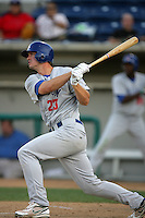 August 30 2009: Steve Kleen of the Stockton Ports during game against the Rancho Cucamonga Quakes at The Epicenter in Rancho Cucamonga,CA.  Photo by Larry Goren/Four Seam Images