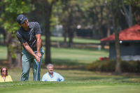Francesco Molinari (ITA) chips on to 11 during round 2 of the World Golf Championships, Mexico, Club De Golf Chapultepec, Mexico City, Mexico. 3/2/2018.<br /> Picture: Golffile | Ken Murray<br /> <br /> <br /> All photo usage must carry mandatory copyright credit (&copy; Golffile | Ken Murray)