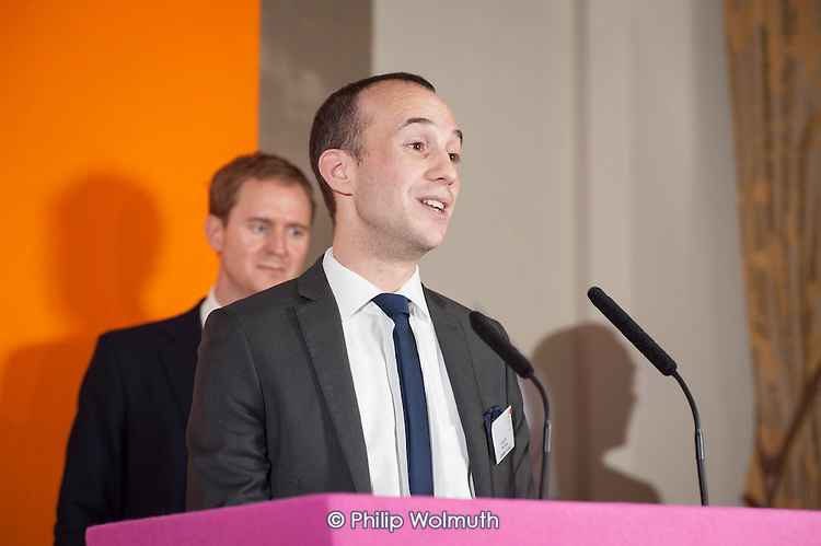 Councillor Phil Jones, Camden Business Awards 2013.