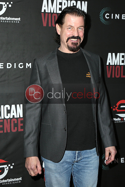 "Michael Pare<br /> at the ""American Violence"" World Premiere, Egyptian Theater, Hollywood, CA 01-25-17<br /> David Edwards/DailyCeleb.com 818-249-4998"