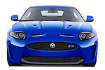 Straight front view of a 2012 Jaguar XKR-S Coupe