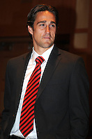 D.C. United forward Josh Wolff,at the United Kickoff luncheon, at the Marriott hotel in Washington DC, March 5, 2012.