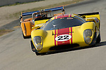 Duncan Dayton races a 1967 Lola T-70 at The Brian Redman International Challenge at Road America, 2005.