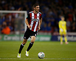 Chris Basham of Sheffield Utd during the Carabao Cup, second round match at Bramall Lane, Sheffield. Picture date 22nd August 2017. Picture credit should read: Simon Bellis/Sportimage