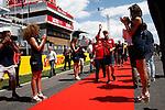 Spanish F1 Grand Prix Pirelli 2017.<br /> Sebastian Vettel (Ferrari).