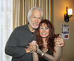 """Michael Beck (Warriors) & One Life To Live BarBara Luna """" Maria Roberts"""" and also on Sunset Beach at Chiller Theatre - Toy, Model and Film Expo was held over the weekend - October 27, 2013 at the Sheraton Hotel, Parsippany, New Jersey - (Photo by Sue Coflin/Max Photos)"""
