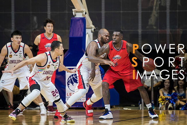 Guangzhou Long-Lions vs Ulsan Hyundai Mobis Phoebus during The Asia League's 'The Terrific 12' at Studio City Event Center on 19 September 2018, in Macau, Macau. Photo by Chung Yan Man / Power Sport Images for Asia League
