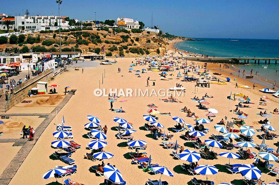 Praia da Albufeira, Algarve. Portugal. 2005. Foto de Rogério Reis.