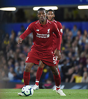 Georginio Wijnaldum of Liverpool <br /> 29-09-2018 Premier League <br /> Chelsea - Liverpool<br /> Foto PHC Images / Panoramic / Insidefoto <br /> ITALY ONLY