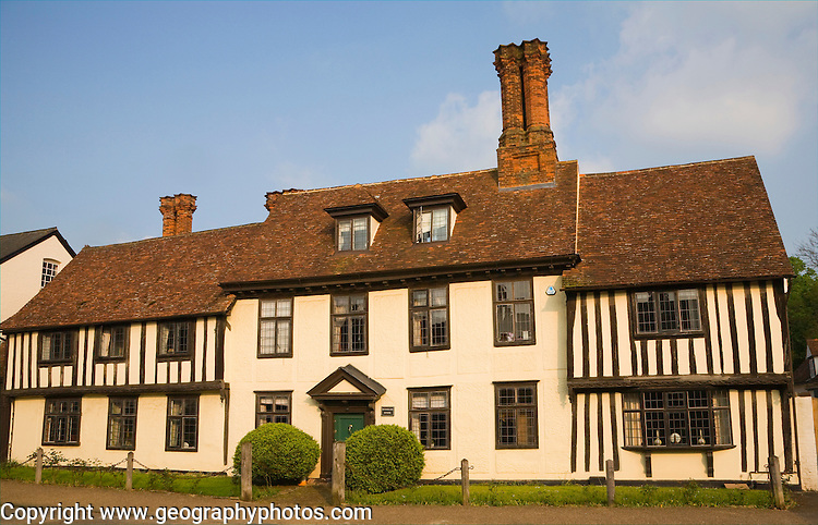 Historic building at Clare, Suffolk, England
