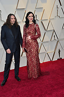 LOS ANGELES, CA. February 24, 2019: Krysten Ritter &amp; Adam Granduciel at the 91st Academy Awards at the Dolby Theatre.<br /> Picture: Paul Smith/Featureflash