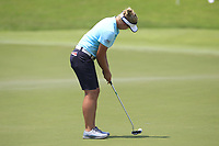 Brooke M. Henderson (USA) in action on the 18th during Round 4 of the HSBC Womens Champions 2018 at Sentosa Golf Club on the Sunday 4th March 2018.<br /> Picture:  Thos Caffrey / www.golffile.ie<br /> <br /> All photo usage must carry mandatory copyright credit (&copy; Golffile | Thos Caffrey)