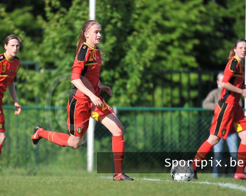 Belgium - Ukraine : Julie Biesmans<br /> foto DAVID CATRY / Nikonpro.be