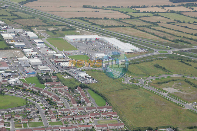 Aerial images of Drogheda Business Park and New IDA Business park..Photo: Newsfile / Fran Caffrey.