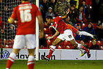 Barnsley v Blackpool<br /> 18.1.2014<br /> Sky Bet Championship<br /> Picture Shaun Flannery/Trevor Smith Photography<br /> Chris O'Grady scores his second goal for Barnsley.