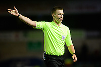 Referee Thomas Bramall<br /> <br /> Photographer Chris Vaughan/CameraSport<br /> <br /> The EFL Sky Bet League Two - Lincoln City v Newport County - Saturday 22nd December 201 - Sincil Bank - Lincoln<br /> <br /> World Copyright © 2018 CameraSport. All rights reserved. 43 Linden Ave. Countesthorpe. Leicester. England. LE8 5PG - Tel: +44 (0) 116 277 4147 - admin@camerasport.com - www.camerasport.com