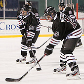 Greg Coburn (Union - 20), Shayne Gostisbehere (Union - 14) - The Union College Dutchmen defeated the Harvard University Crimson 2-0 on Friday, January 13, 2011, at Fenway Park in Boston, Massachusetts.