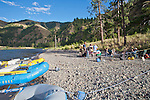Washington State, river rafting, river campsite, Grande Ronde River, Eastern Washington, Pacific Northwest,