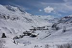 Town of Zurs Ski Area, St Anton, Austria,