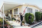 Dang Van Au poses for a portrait in his home in Westminster, California, March 26, 2016. <br /> <br /> Photo by Kendrick Brinson