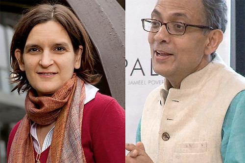 Esther Duflot y Abhijit Banerjee