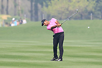 Subhankar Sharma (IND) during the final round of the Volvo China Open played at Topwin Golf and Country Club, Huairou, Beijing, China 26-29 April 2018.<br /> 29/04/2018.<br /> Picture: Golffile | Phil Inglis<br /> <br /> <br /> All photo usage must carry mandatory copyright credit (&copy; Golffile | Phil Inglis)