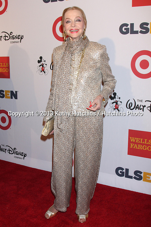 LOS ANGELES - OCT 18:  Anne Jeffreys at the 2013 GLSEN Awards at Beverly Hills Hotel on October 18, 2013 in Beverly Hills, CA