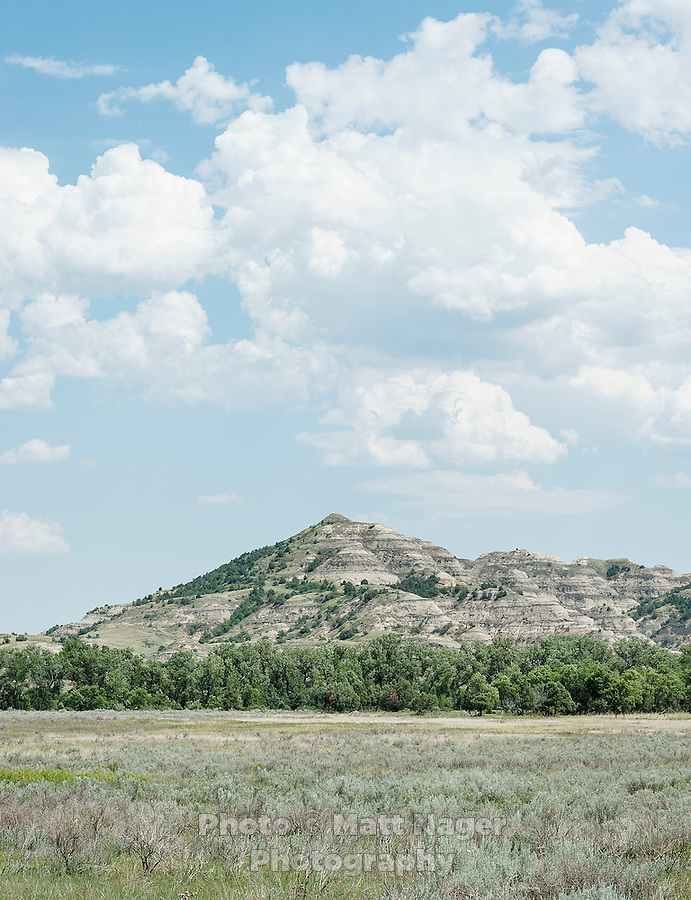 Theodore Roosevelt National Park in North Dakota, Thursday, July 18, 2012. ..Photo by MATT NAGER