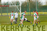 Andrew Barry Na Gaeil celebrates scoring Na Gaeil second goal against Mullinahone in the Munster Junior Championship final on Sunday