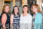 SPECIAL BIRTHDYA: Mary Hurley,Tonevane,Blennerville (2nd from the right) celebrated a special birthday with friends in Bella Bia restaurant, Tralee, last Friday night. Pictured l-r: Mary Byrne,Denise Allman, Mary Hurley and Siobhan Power.