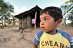 A boy in La Pacaira, a small village in northwestern Nicaragua.