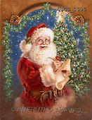 Dona Gelsinger, CHRISTMAS SANTA, SNOWMAN, classical, paintings(USGE0508,#X#) Weihnachtsmänner, Papá Noel, Weihnachten, Navidad, illustrations, pinturas klassisch, clásico