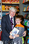 Conor Giles Castlemaine gets to meet Frances Brennan at his booksigning in Easons Killarney on Saturday