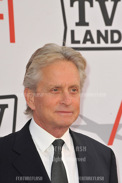 Michael Douglas at the 2010 AFI Life Achievent Award Gala, honoring director Mike Nichols, at Sony Studios, Culver City, CA..June 10, 2010  Los Angeles, CA.Picture: Paul Smith / Featureflash