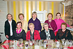 Xmas party : Members of the Clounmacon ICA enjoying thier Christmas dinner at the Horseshoe Bar & Restaurant, Listowel on Friday night last, Front : Mary Buckley, Kitty Curtin, Bridie Gorman & Margaret halpin. Back : Margaret Buckley, Bridie Leahy, Maura Carmody, Mary Keogh & Angela Carmody.
