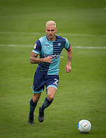 Max Muller of Wycombe Wanderers during the pre season friendly match between Aldershot Town and Wycombe Wanderers at the EBB Stadium, Aldershot, England on 22 July 2017. Photo by Andy Rowland.