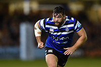 Nathan Catt of Bath Rugby. Gallagher Premiership match, between Bath Rugby and Exeter Chiefs on October 5, 2018 at the Recreation Ground in Bath, England. Photo by: Patrick Khachfe / Onside Images