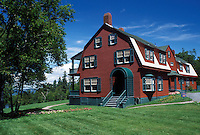 Roosevelt Cottage, Campobello Island, New Brunswick, Canada, Bay of Fundy, Roosevelt Cottage at Roosevelt Campobello International Park on Campobello Island.