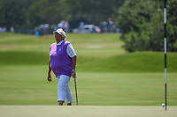 Laura Davies (ENG) reacts to barely missing her putt on 4 during round 1 of the 2019 US Women's Open, Charleston Country Club, Charleston, South Carolina,  USA. 5/30/2019.<br /> Picture: Golffile | Ken Murray<br /> <br /> All photo usage must carry mandatory copyright credit (© Golffile | Ken Murray)