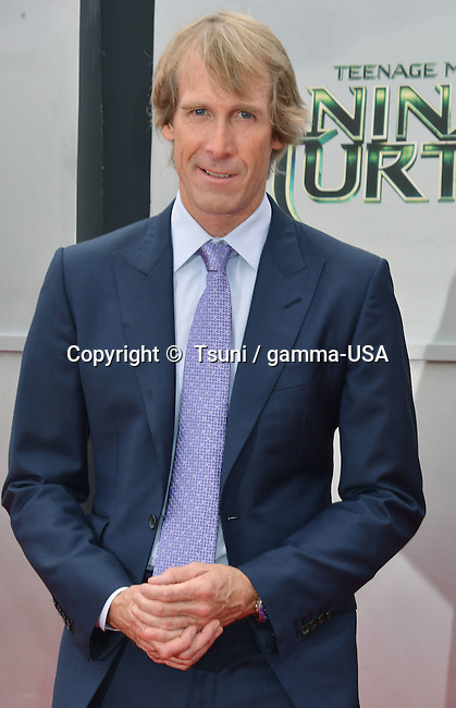 Michael Bay at the Teenage Mutant Ninja Turtles  Premiere at the Westwood Village Theatre in Los Angeles.