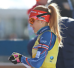 19/01/2017, Anterselva - Antholz - IBU Biathlon World Cup 2017 - Antholz -   Anterselva - Italy<br /> Gabriela Koukalova competes at the ladies individual race in Anterselva - Antholz, Italy on 19/01/2017.