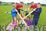 Enjoying the multi-sports camp in Ardfert on Thursday were: Gemma Lawlor, Jack McCarthy, JT Deenihan, Sarah Bodenham, Liam Meade, Shane Hennessy, Caragh Kenny O'Sullivan and Niall McCarthy.
